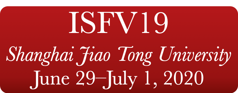 19th International Symposium on Flow Visualization ISFV 19